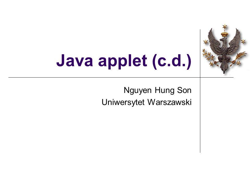 Nguyen Hung Son Uniwersytet Warszawski