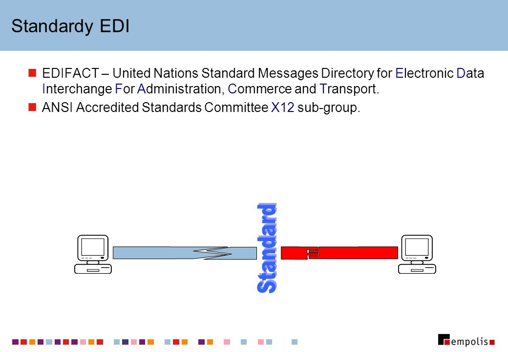 Standard Standardy EDI