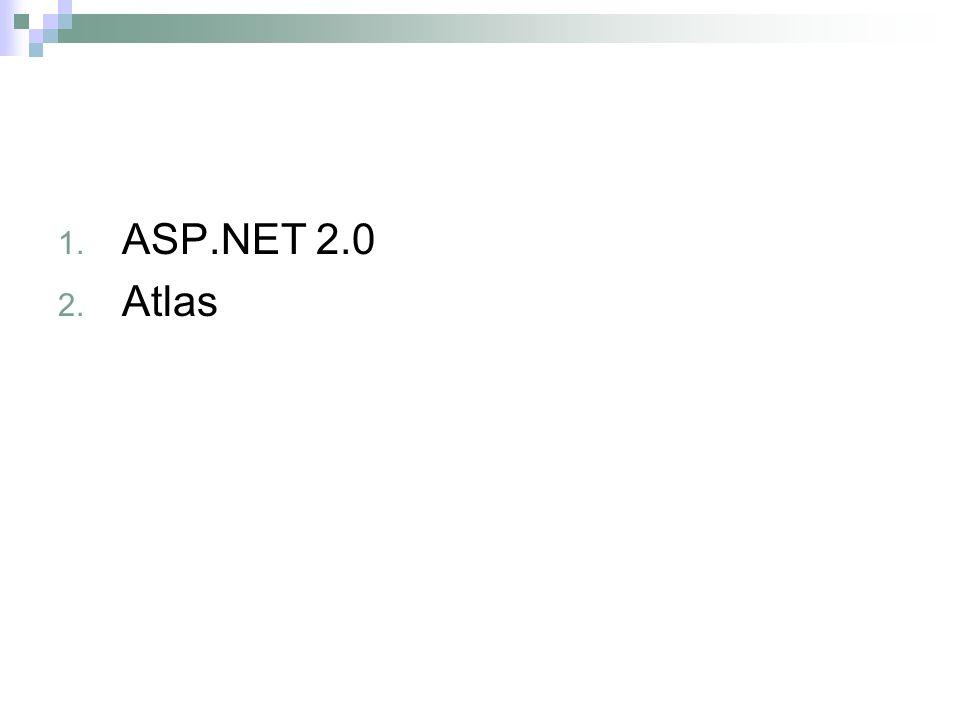 ASP.NET 2.0 Atlas