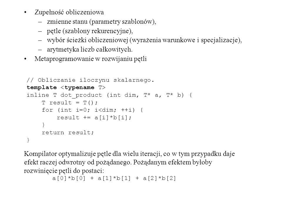 Zupełność obliczeniowa zmienne stanu (parametry szablonów),