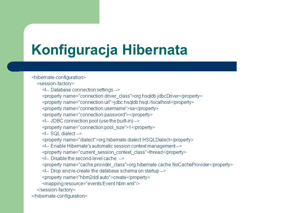 Konfiguracja Hibernata
