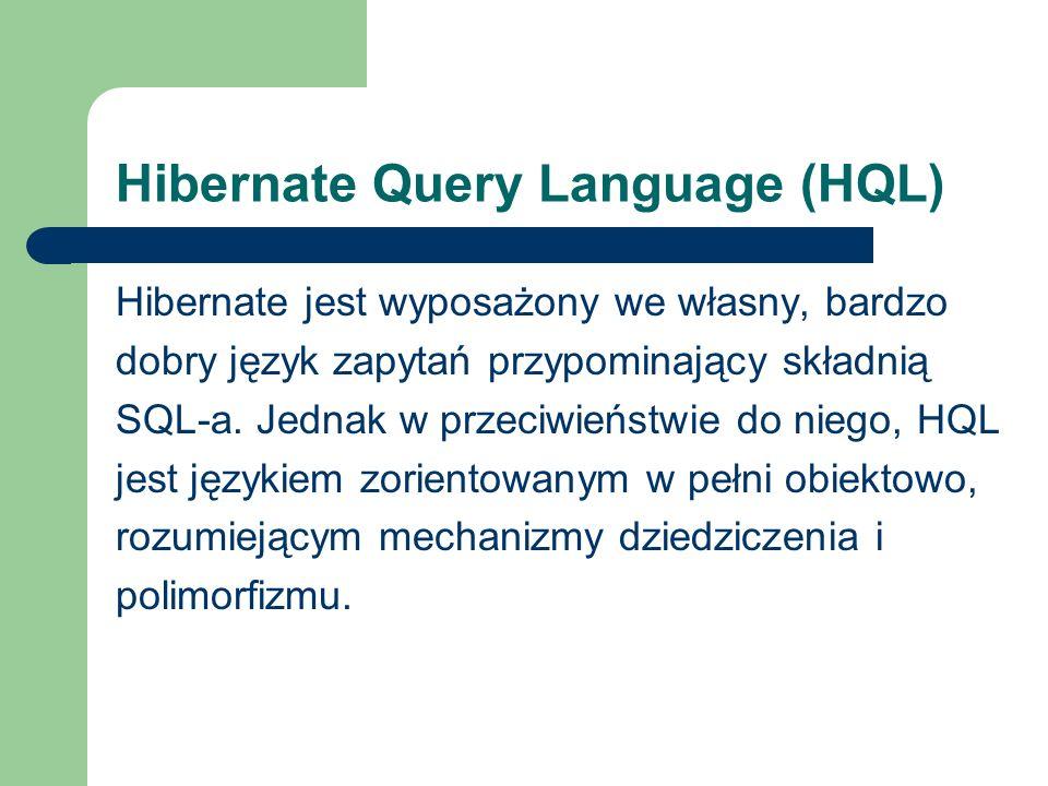 Hibernate Query Language (HQL)