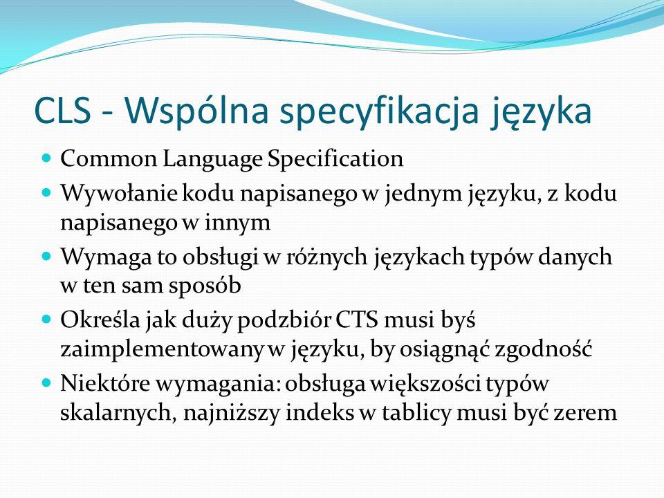 CLS - Wspólna specyfikacja języka