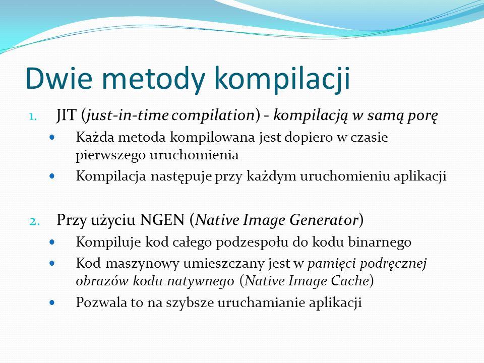 Dwie metody kompilacji