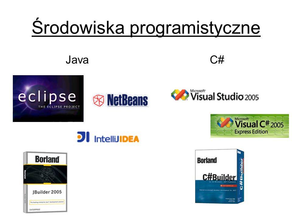 Środowiska programistyczne