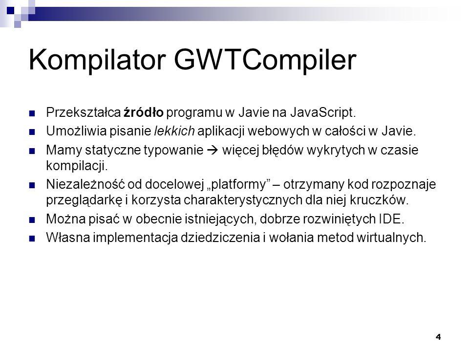 Kompilator GWTCompiler
