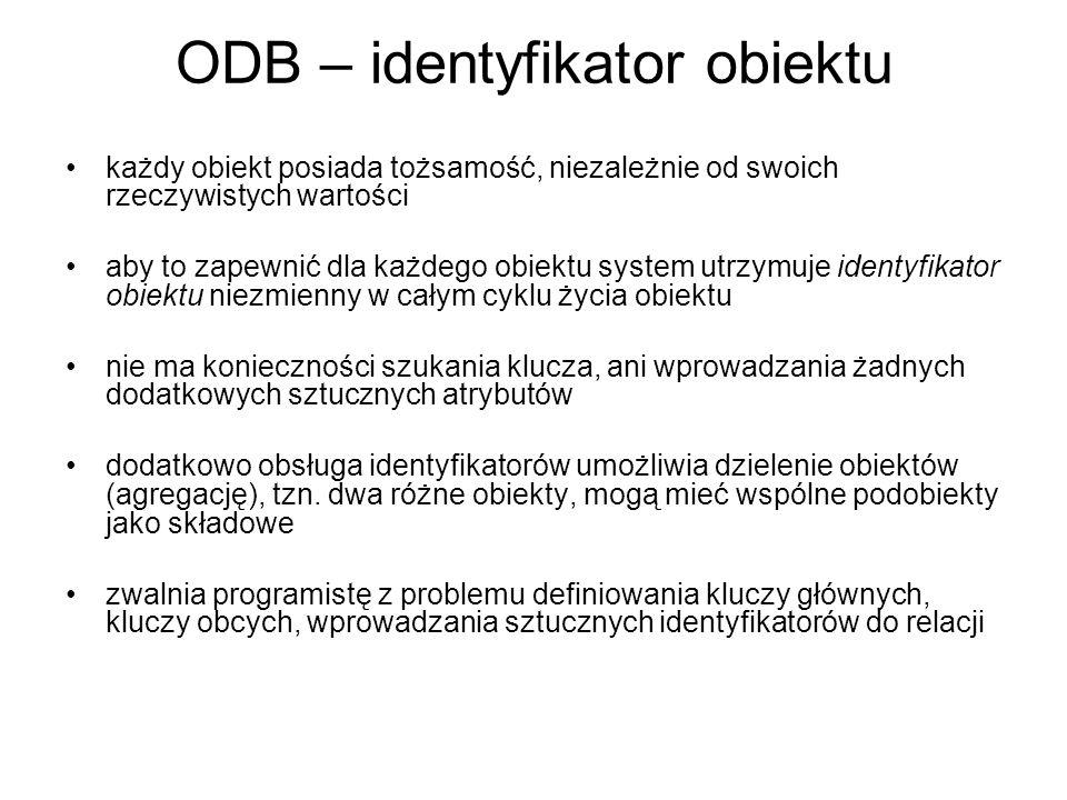 ODB – identyfikator obiektu