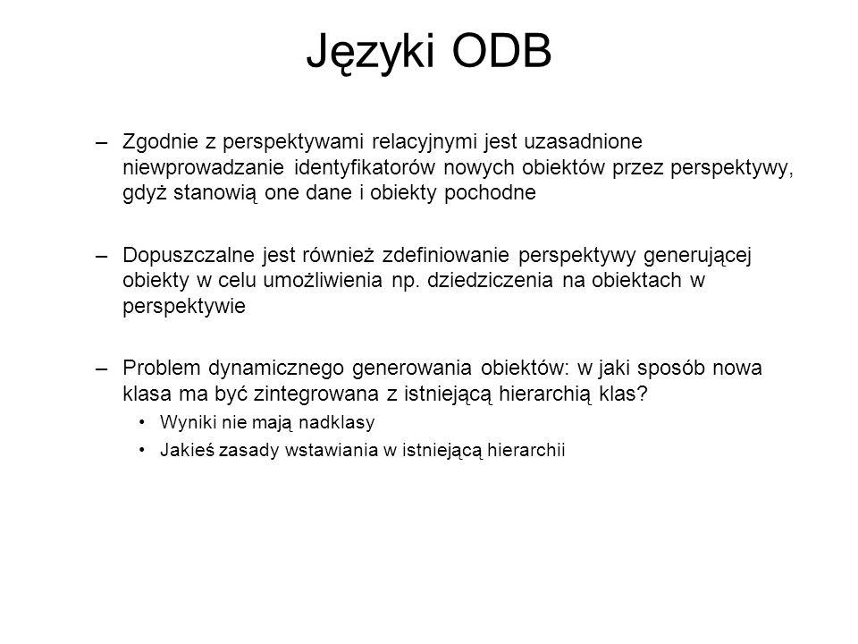 Języki ODB