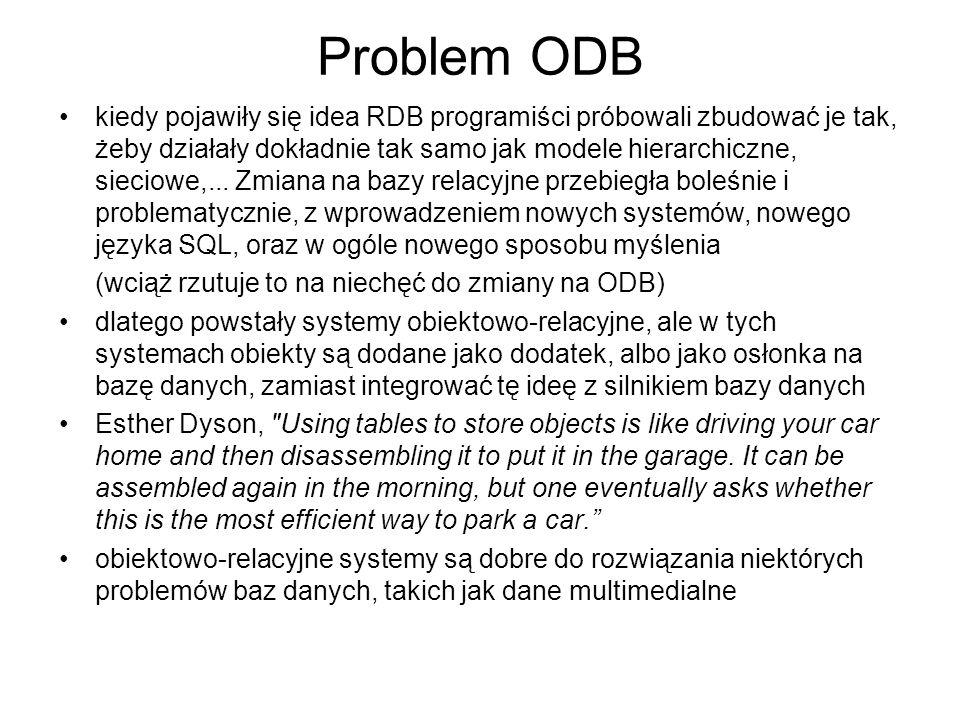 Problem ODB