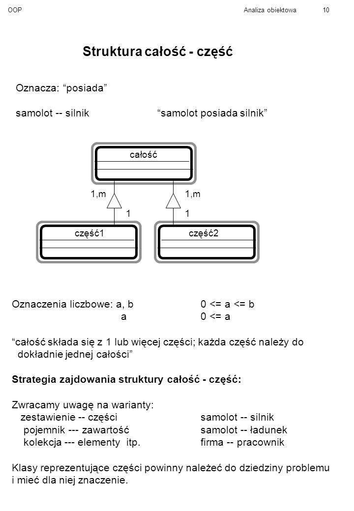 Struktura całość - część