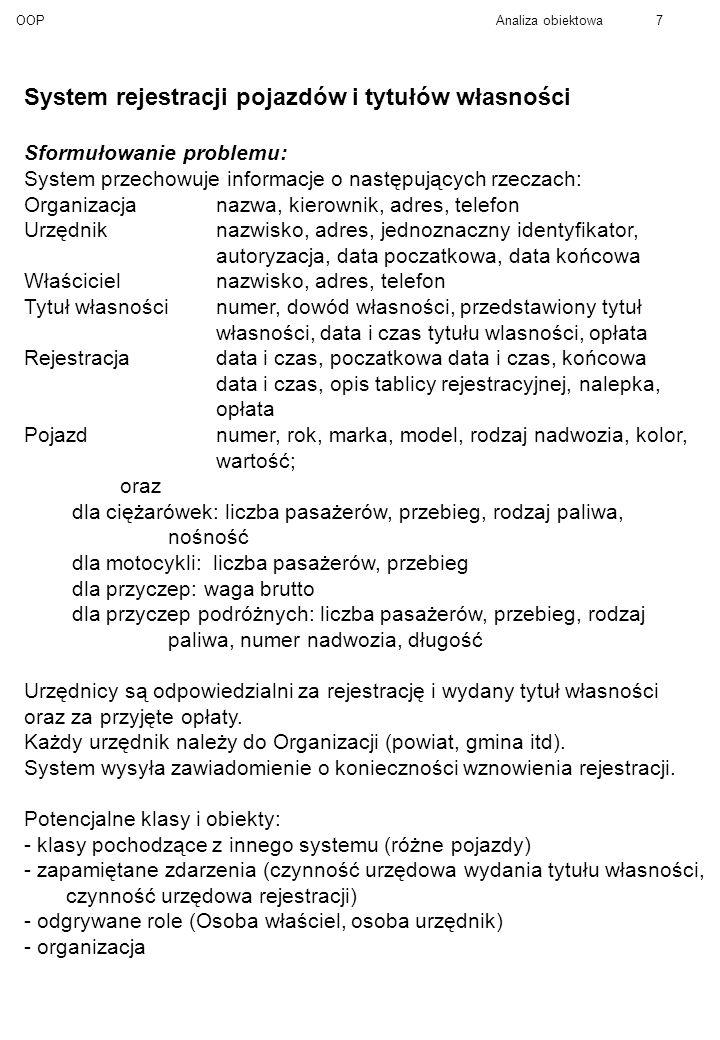 System rejestracji pojazdów i tytułów własności