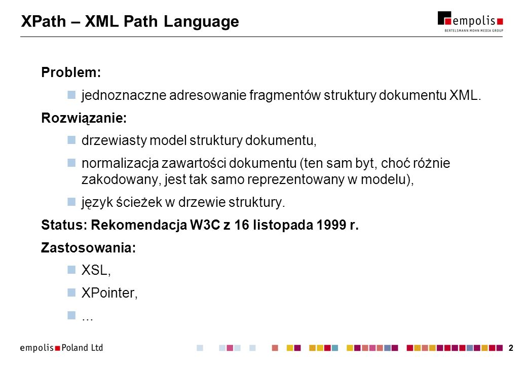 XPath – XML Path Language