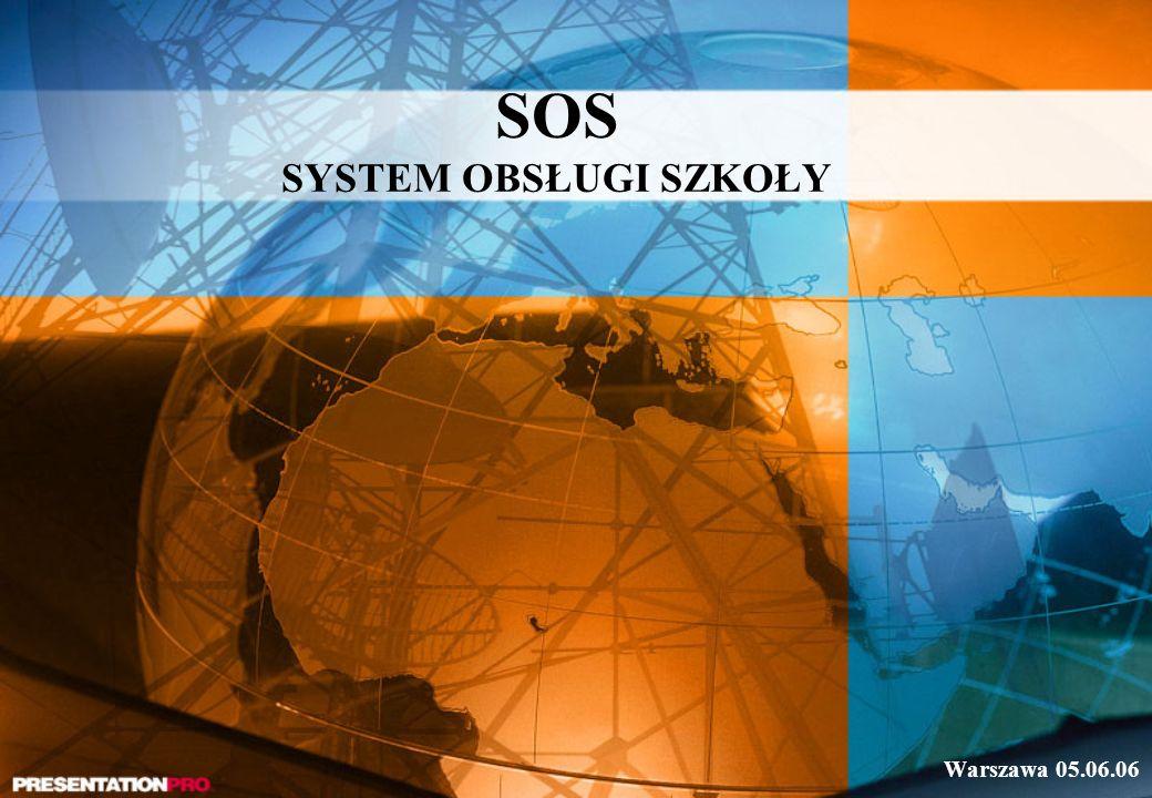 SOS SYSTEM OBSŁUGI SZKOŁY