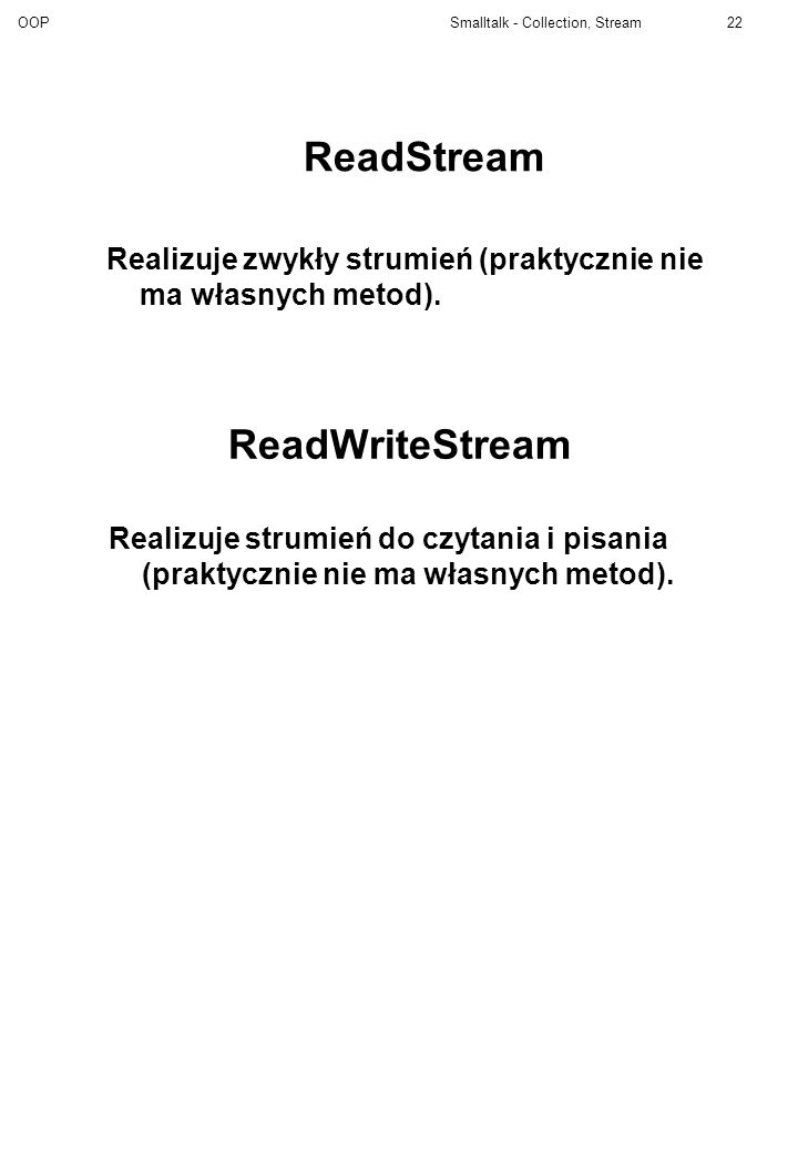 ReadStream ReadWriteStream