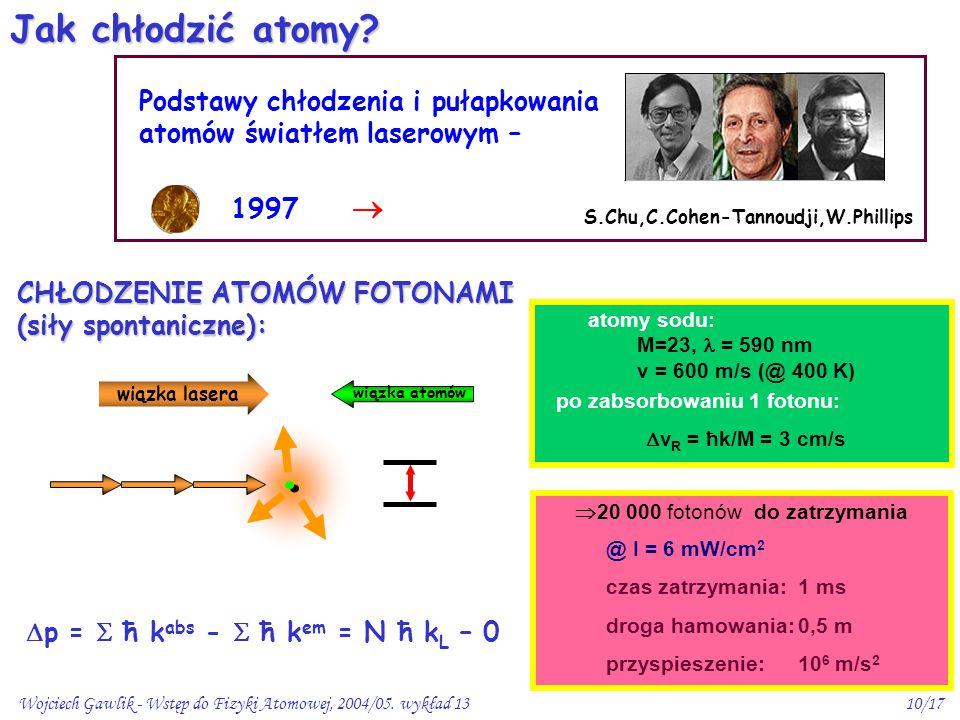po zabsorbowaniu 1 fotonu: