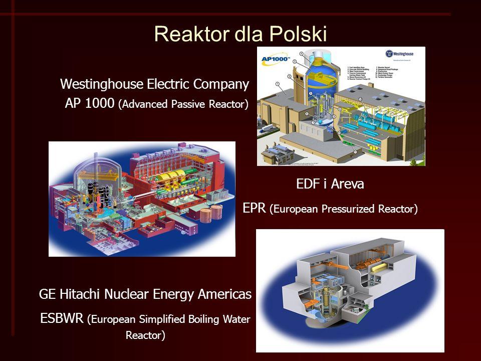 Reaktor dla Polski Westinghouse Electric Company
