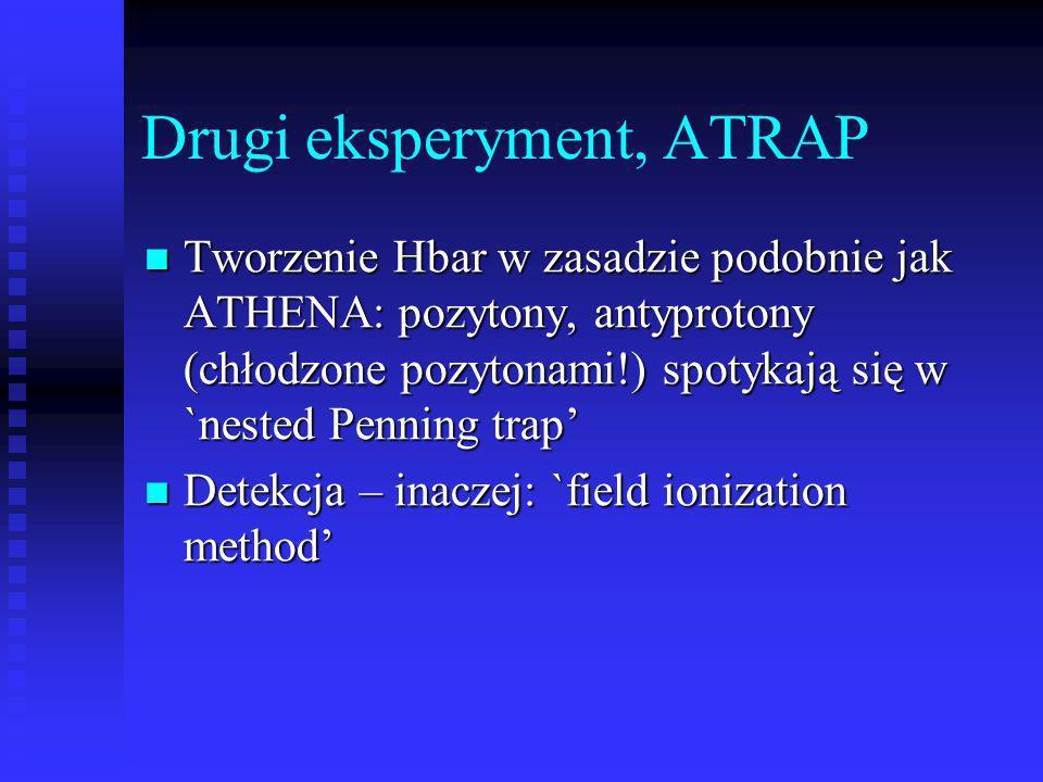 Drugi eksperyment, ATRAP