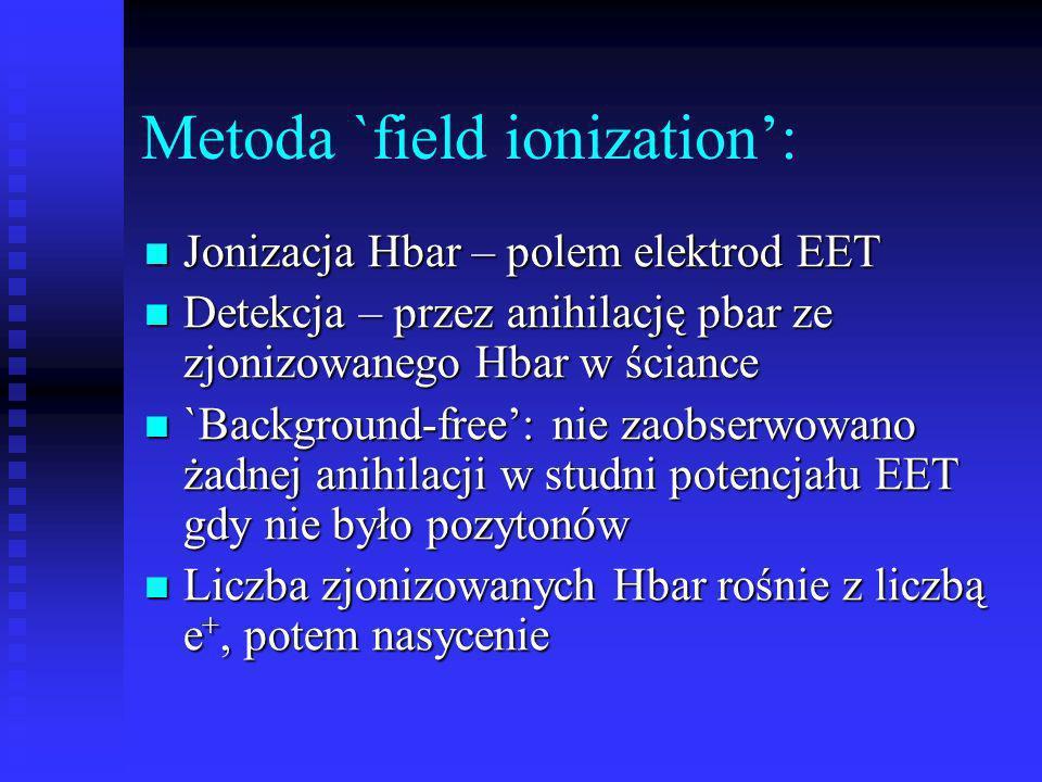 Metoda `field ionization':