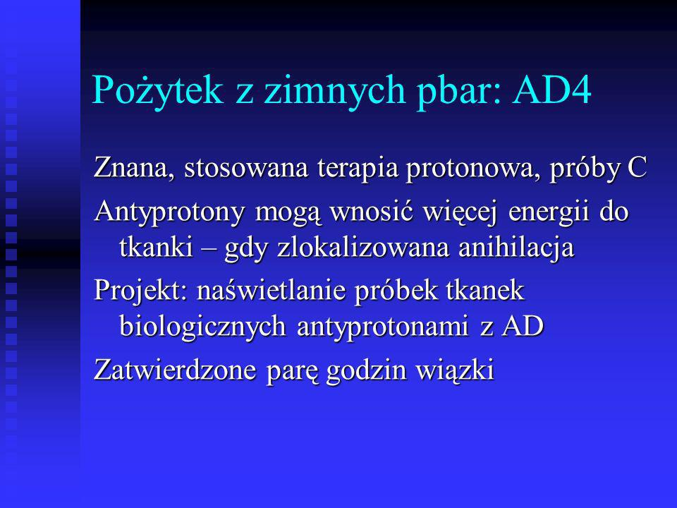 Pożytek z zimnych pbar: AD4