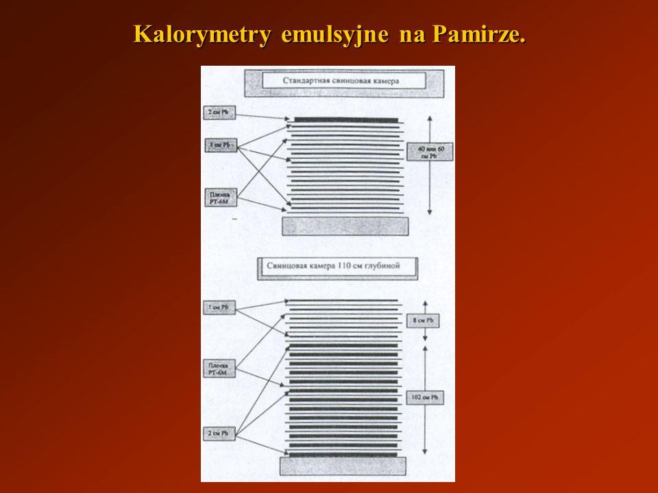 Kalorymetry emulsyjne na Pamirze.