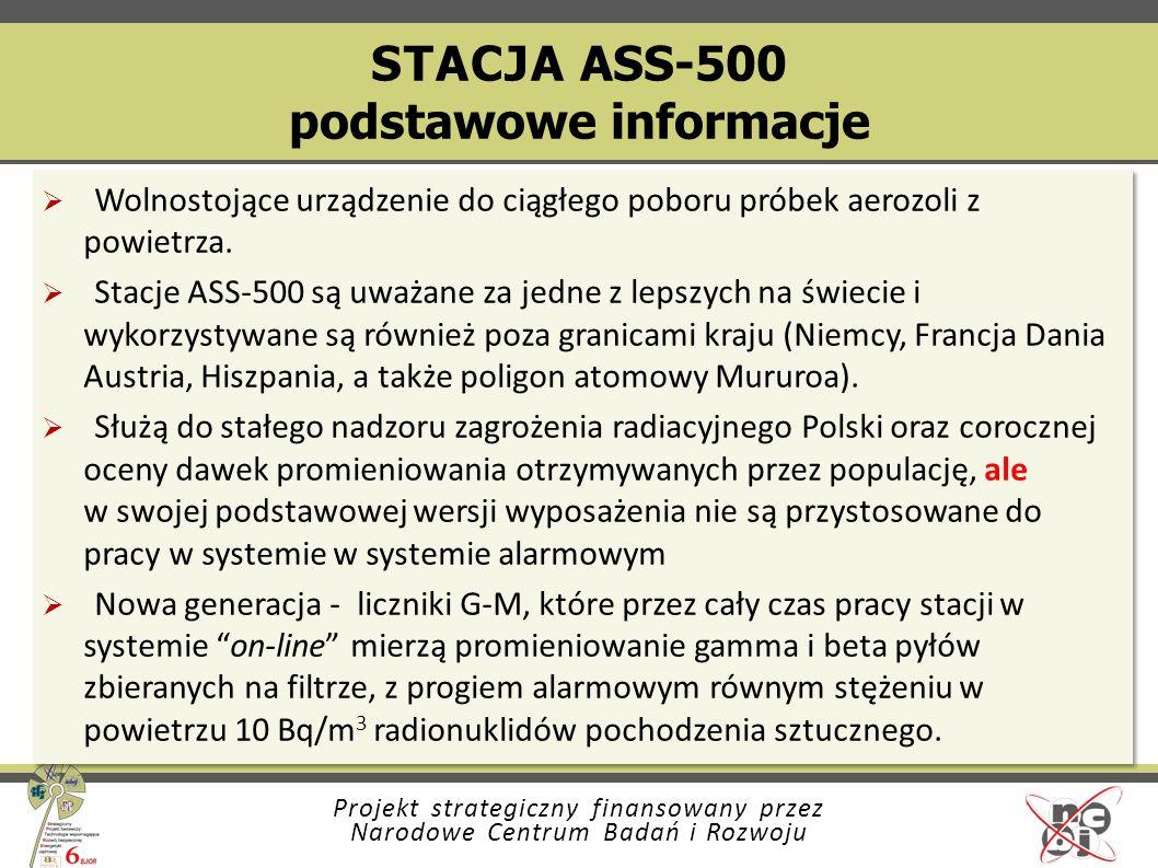 STACJA ASS-500 podstawowe informacje