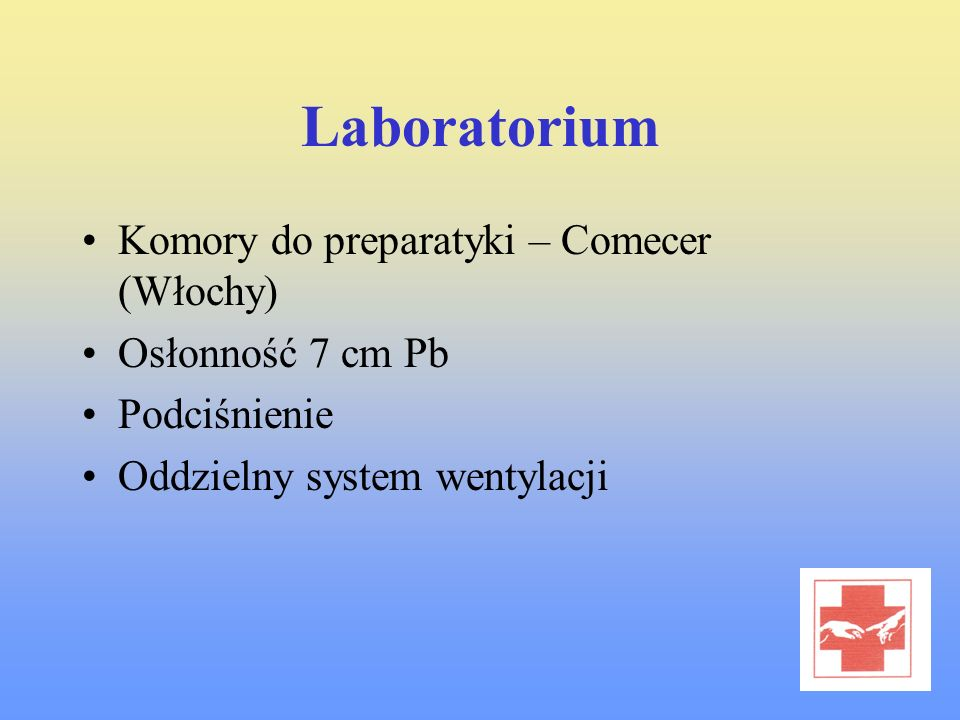 Laboratorium Komory do preparatyki – Comecer (Włochy)