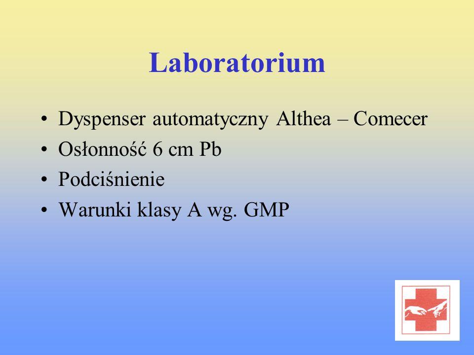 Laboratorium Dyspenser automatyczny Althea – Comecer Osłonność 6 cm Pb