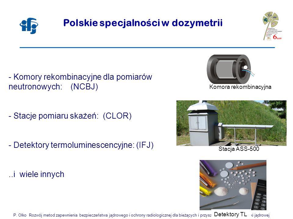 Polskie specjalności w dozymetrii