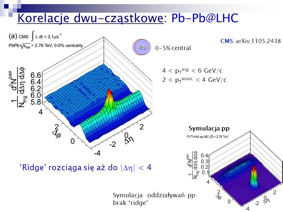 Korelacje dwu-cząstkowe: Pb-Pb@LHC