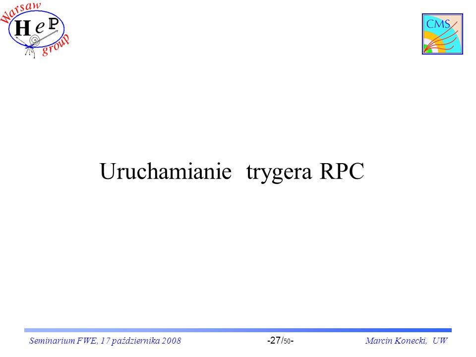Uruchamianie trygera RPC