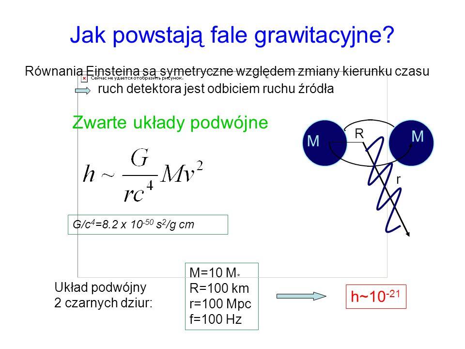 Jak powstają fale grawitacyjne