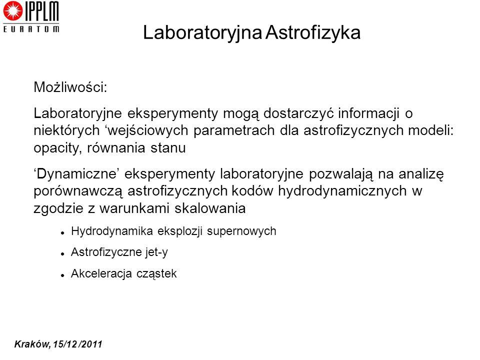 Laboratoryjna Astrofizyka