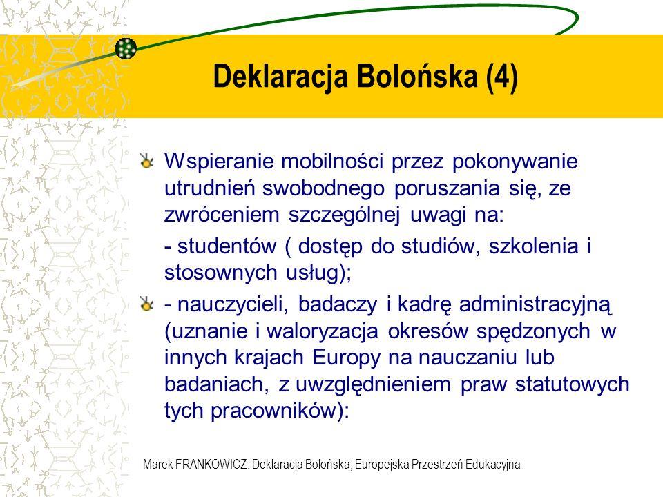Deklaracja Bolońska (4)