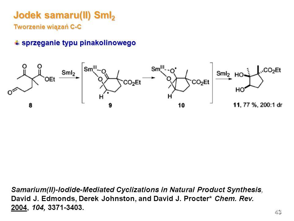 Jodek samaru(II) SmI2 Tworzenie wiązań C-C
