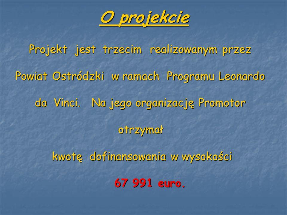 O projekcie Projekt jest trzecim realizowanym przez