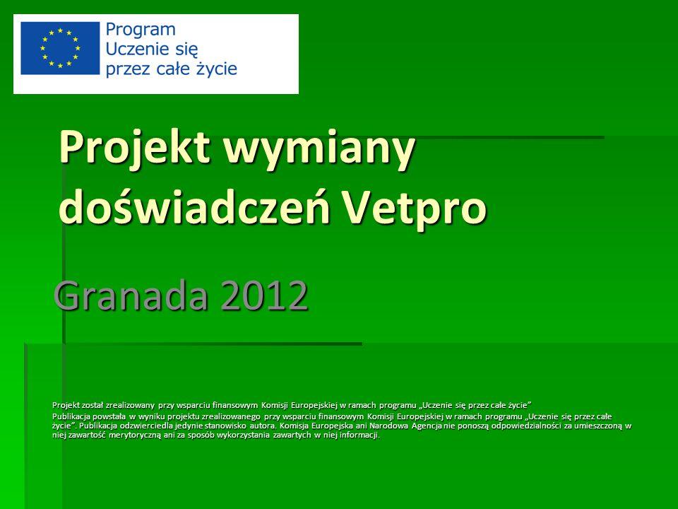 Projekt wymiany doświadczeń Vetpro