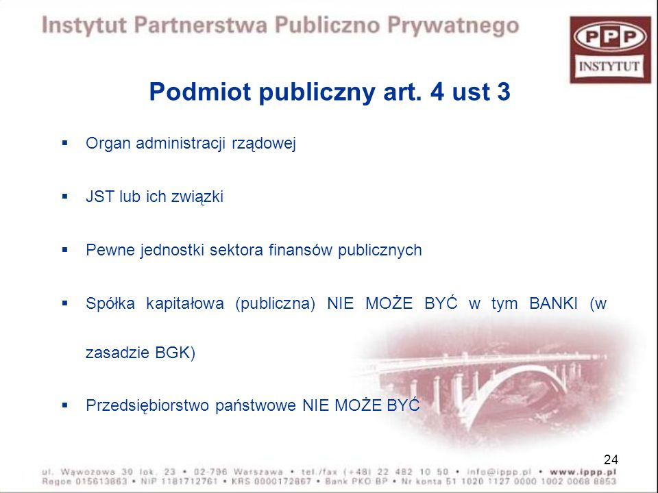 Podmiot publiczny art. 4 ust 3