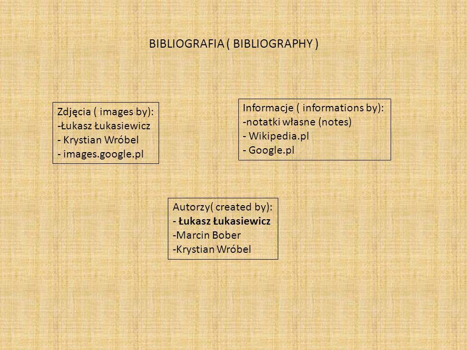 BIBLIOGRAFIA ( BIBLIOGRAPHY )