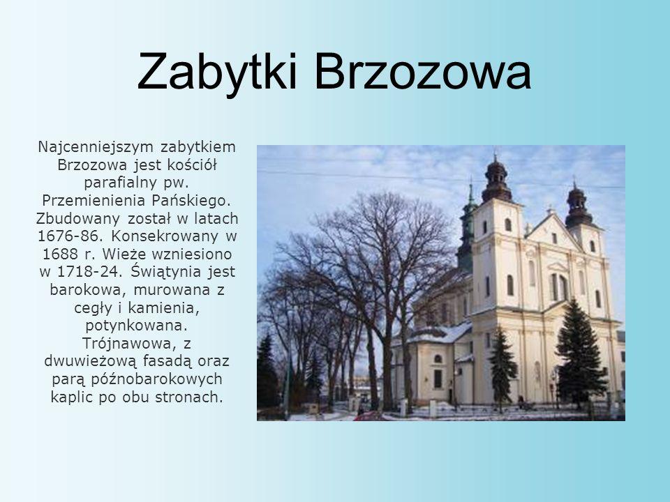 Zabytki Brzozowa