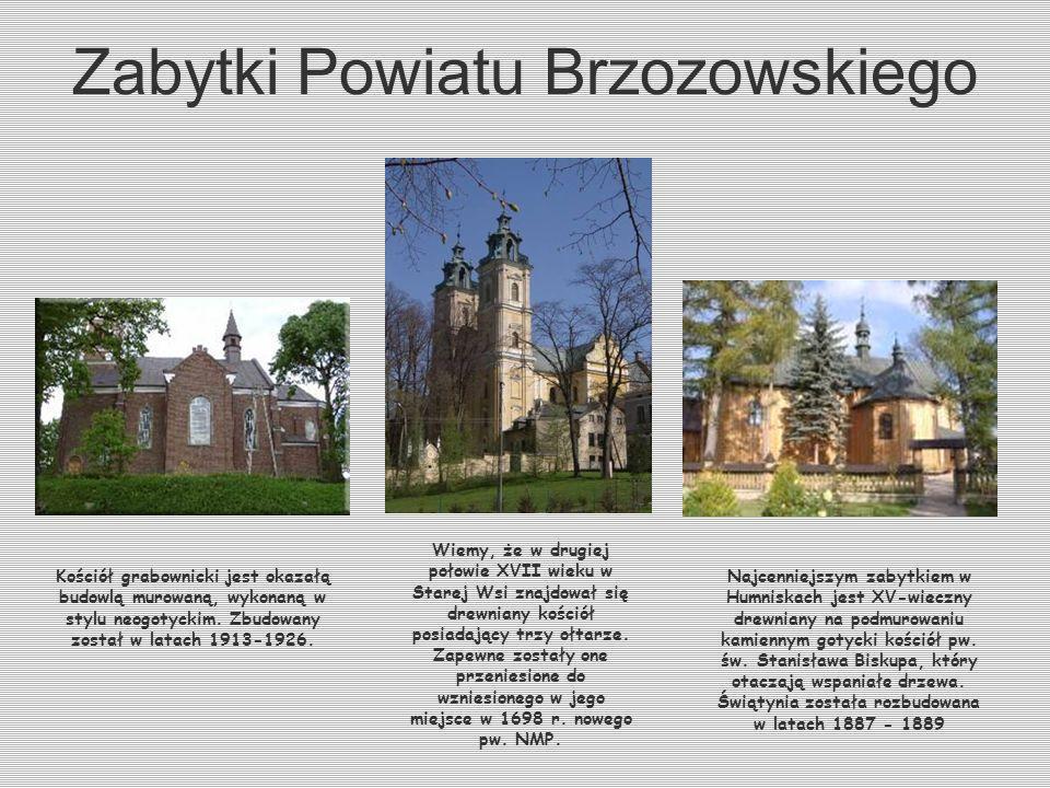 Zabytki Powiatu Brzozowskiego