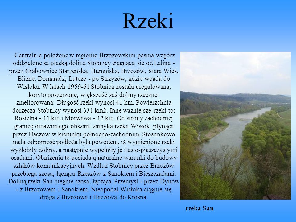 Rzeki