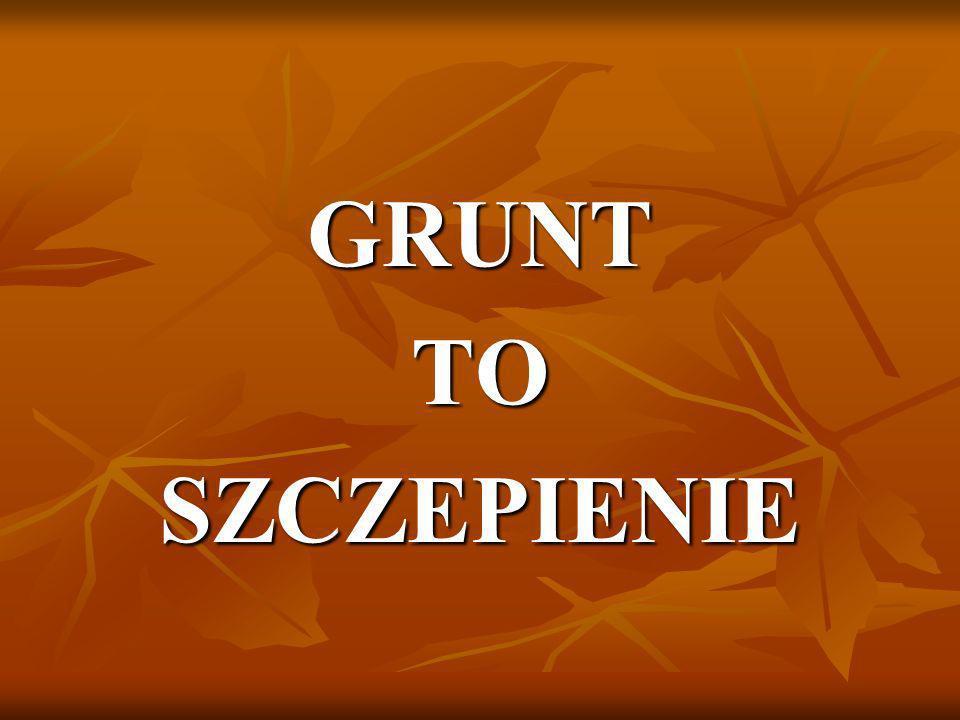 GRUNT TO SZCZEPIENIE
