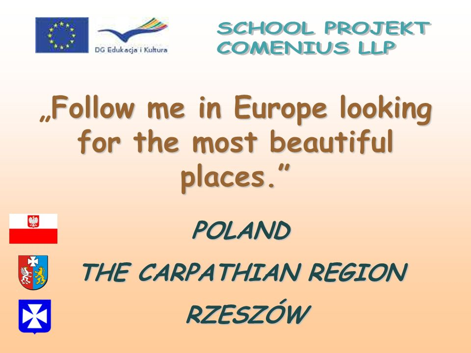 """Follow me in Europe looking for the most beautiful places."