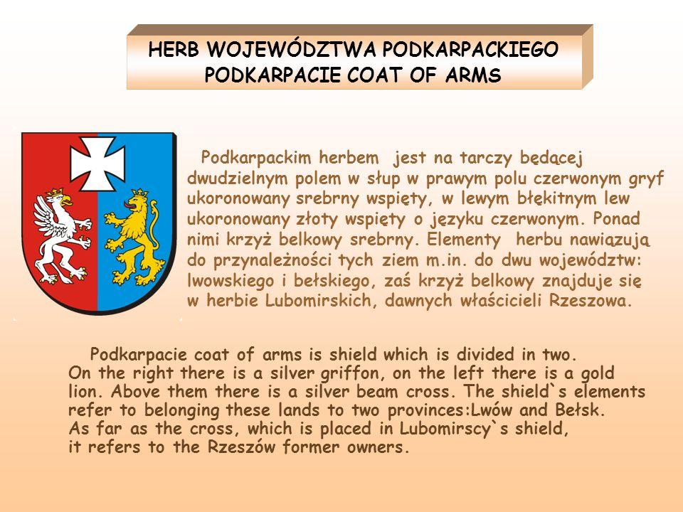 HERB WOJEWÓDZTWA PODKARPACKIEGO PODKARPACIE COAT OF ARMS