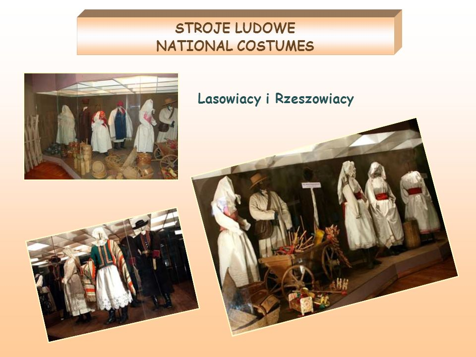 STROJE LUDOWE NATIONAL COSTUMES
