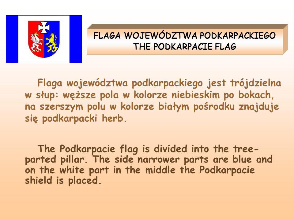 FLAGA WOJEWÓDZTWA PODKARPACKIEGO