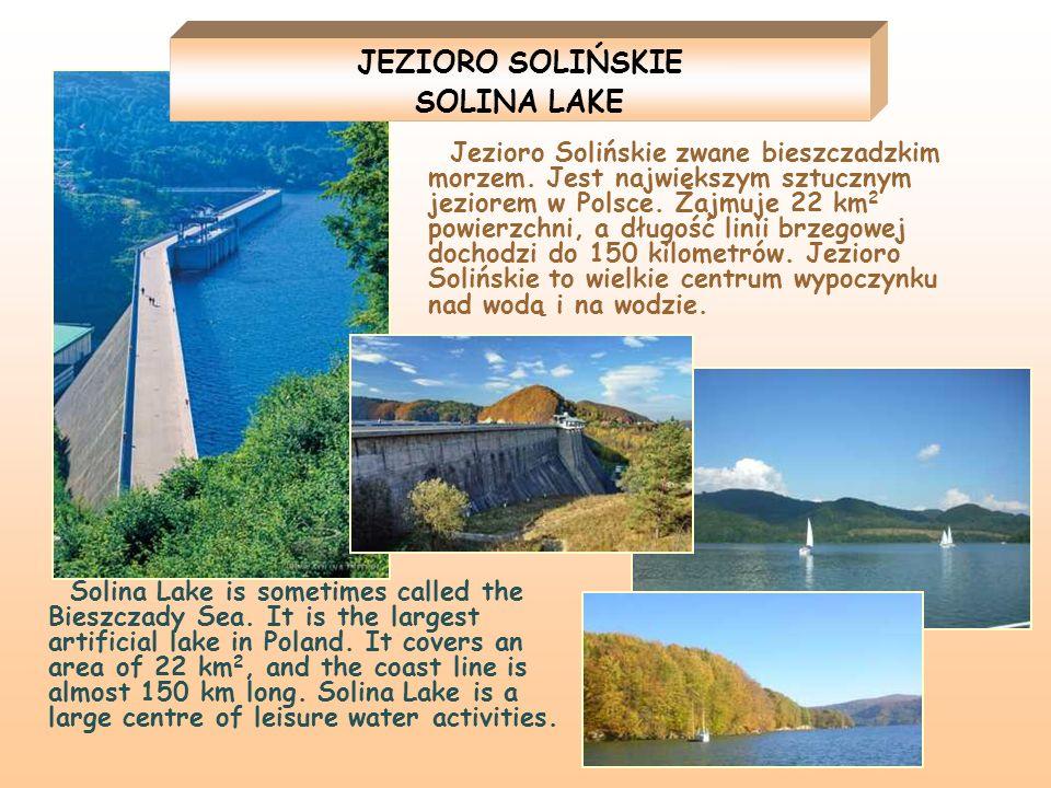 JEZIORO SOLIŃSKIE SOLINA LAKE