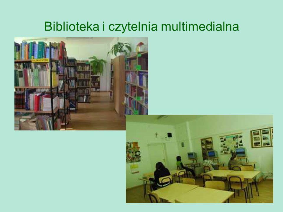 Biblioteka i czytelnia multimedialna