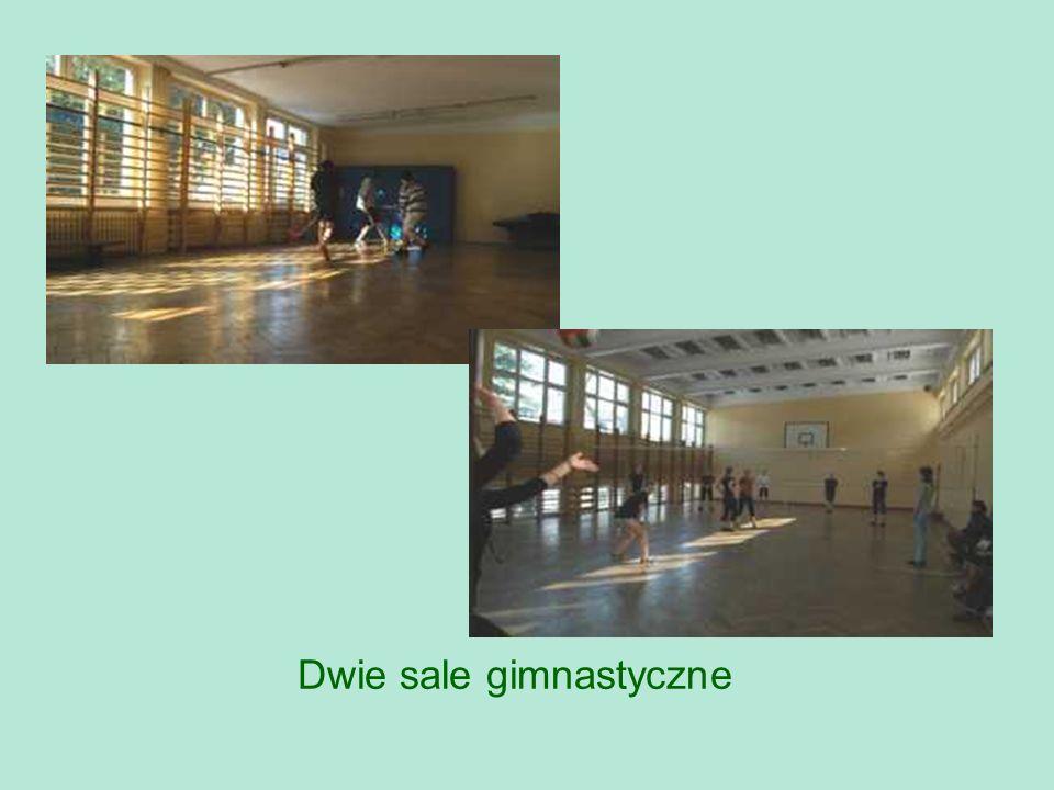 Dwie sale gimnastyczne