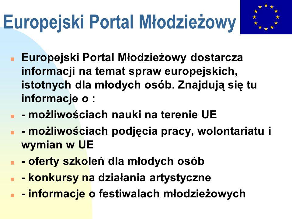 Europejski Portal Młodzieżowy
